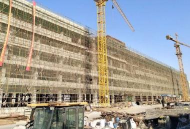 河北建设集团承建正定纺织基地项目