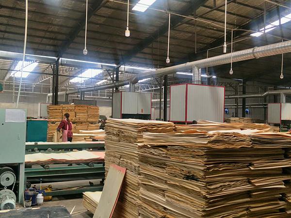建筑模板厂区制作
