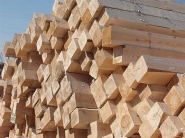 建筑方木制作